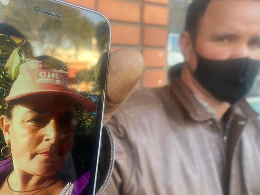 Homem procura desesperadamente por sua esposa desaparecida em Livramento