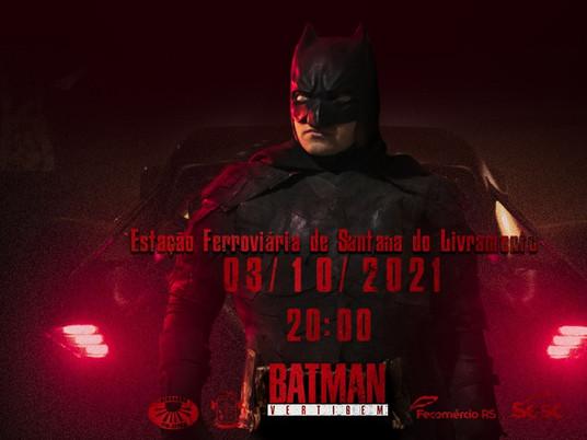 Filme do Batman produzido em Livramento estreia domingo no Cine Estação