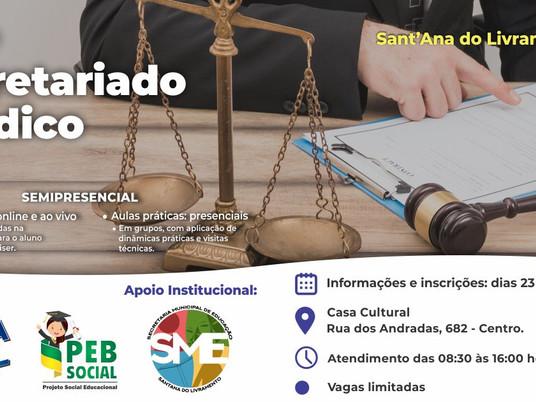 Curso para Secretariado Jurídico será realizado em Livramento