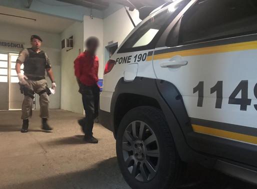PATAMO prende homem com buchas de maconha no centro de Livramento