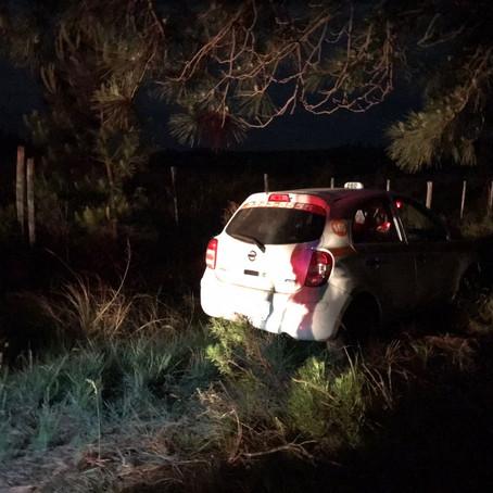 Taxista é assaltada por casal e tem carro roubado em Rivera