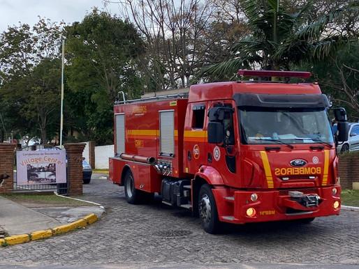 Princípio de incêndio assusta moradores em condomínio de Livramento