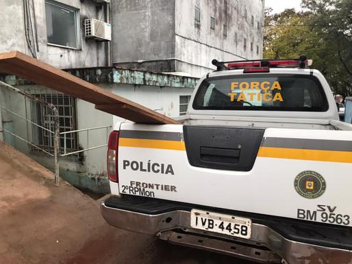 Funcionário público é detido furtando material de Secretaria em Livramento