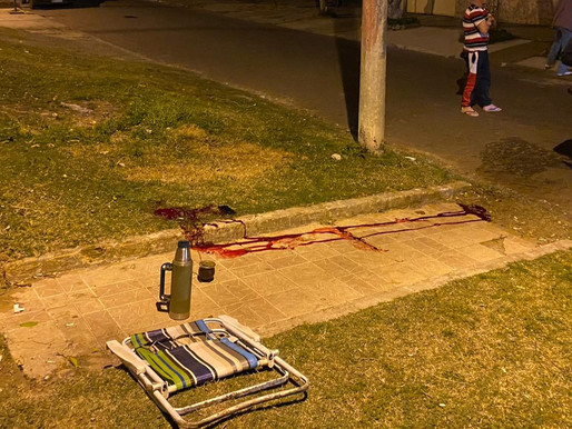 Dos hombres fueron baleados en el último domingo, en Rivera