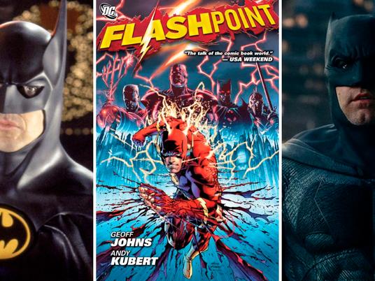Coruja Geek: Batman em dose dupla é confirmado no filme do Flash