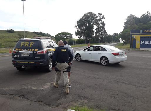 Veículo roubado é recuperado em Santana do Livramento