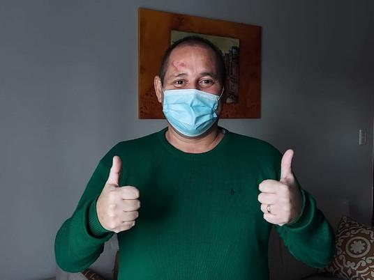 """Vini fala sobre recuperação do Covid após 64 dias internado e diz, """"É um novo recomeço"""""""