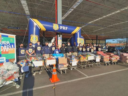Campanha Estrada Solidária arrecada mais de 68 toneladas de alimentos no Rio Grande do Sul