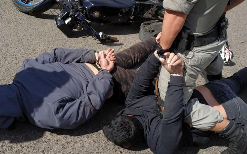 Suspeitos de onda de assaltos em Livramento são presos pela ROCAM