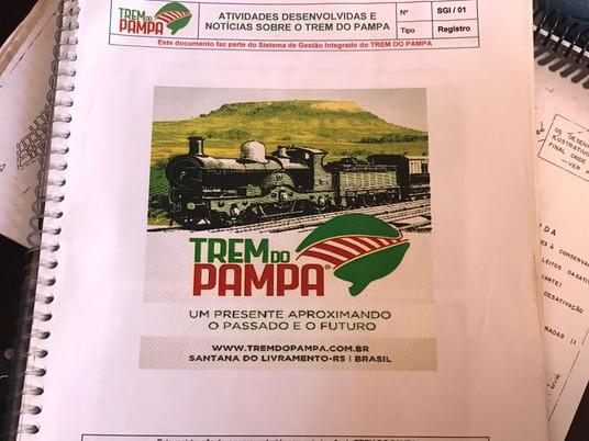 """Após 14 anos de luta, """"Trem do Pampa"""" será realidade em Livramento"""