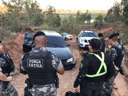 Apenado do regime semiaberto é preso após fuga e perseguição na Fronteira