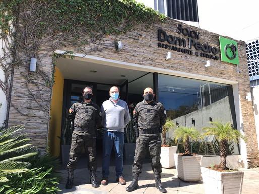 Comandantes do Policiamento Ambiental da BM realizam importante encontro em Livramento