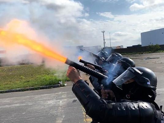 Força de Choque da PRF realiza nivelamento técnico no Rio Grande do Sul