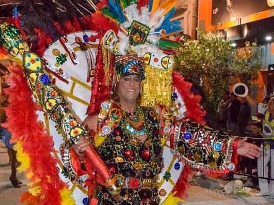 Falleció Robert Paul personaje icónico de Rivera y el carnaval fronterizo