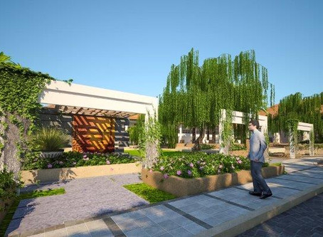 Club house Landscape Design