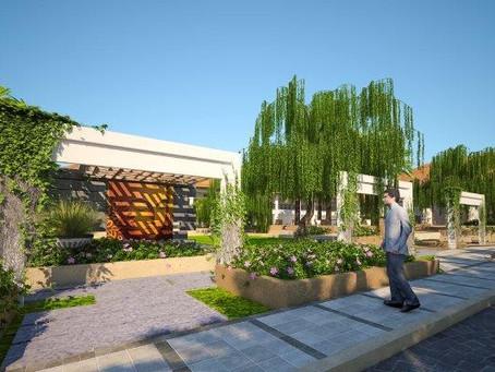 Club house Landscape Design