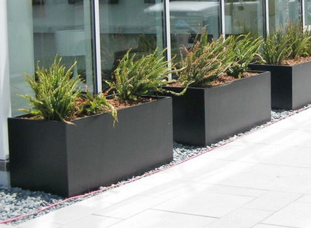 Features and Benefits of Fiberglass Planters