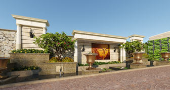 Ravindra Residence - Victorian Style Landscape