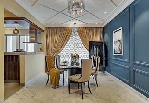 Dining interiors Mid-Century Modern beng