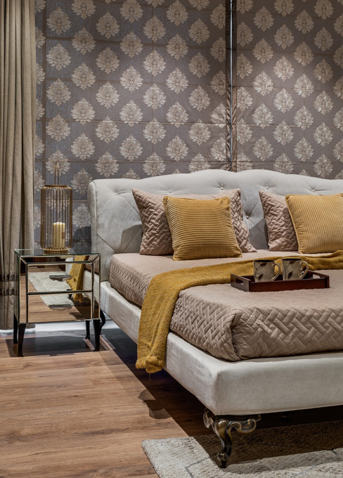 Bedroom Decor interiors Mid-Century Mode