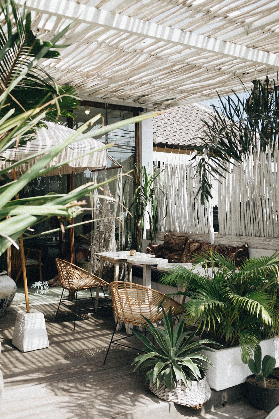 Rustic terrace design