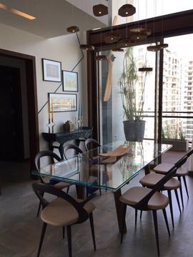 industrial interior design dining lighti