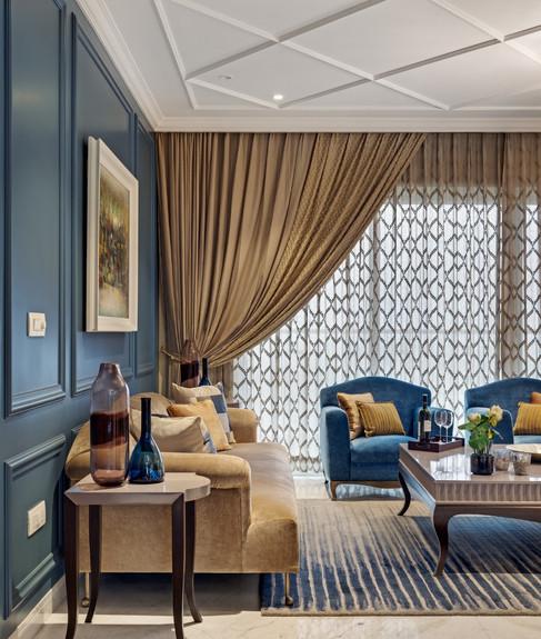Sofa interiors Mid-Century Modern bengal