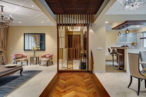 living dining interiors Mid-Century Mode