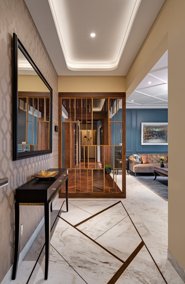 Foyer Mid-Century Modern bangalore.jpeg