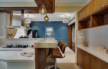 kitchen  interiors Mid-Century Modern ba