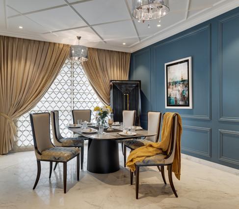 Dining interiors Mid-Century Modern Bang