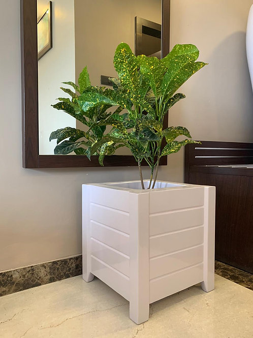 """FRP square Planter Height 17"""" Width 15"""""""