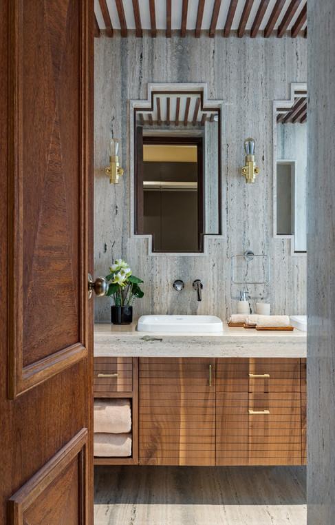 Bathroom interiors Mid-Century Modern be