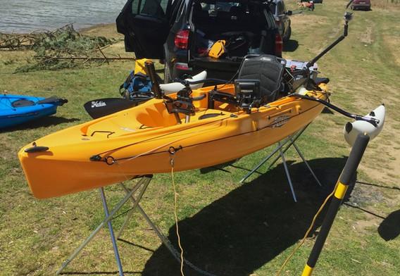 Риболовен каяк Хоби Outback