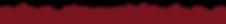 Faixa horizontal vermelha, com folhas comuns e da mesma cor, dispostas de forma irregular na borda inferior.