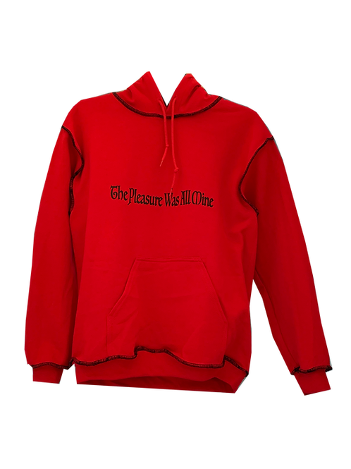 'THE PLEASURE IS ALL MINE' HOODIE