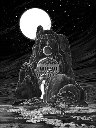 The Moon Temple