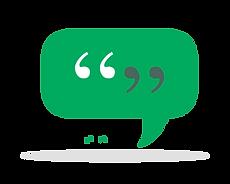 Icon speech bubble in Risdon Hosegood Solicitors brand greens