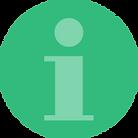 Information icon in Risdon Hosegood Solicitors brand greens