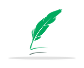 Icon of quill in Risdon Hosegood Solicitors brand Greens
