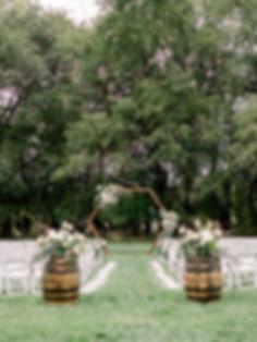 Silo Wedding Ceremony