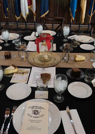 Military Dining In Event