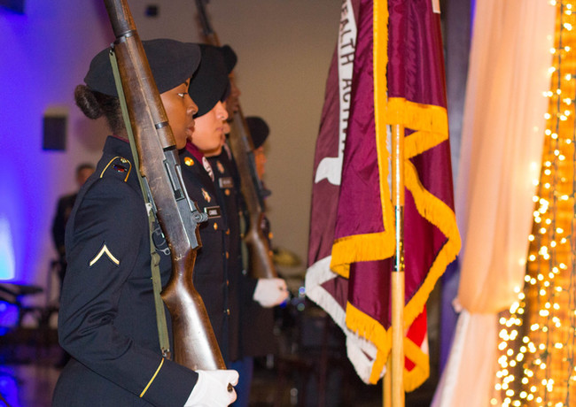 Military Posting of the Colors