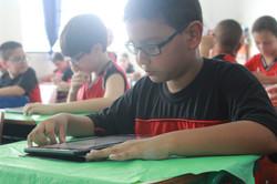 aulas virtuais - tablet