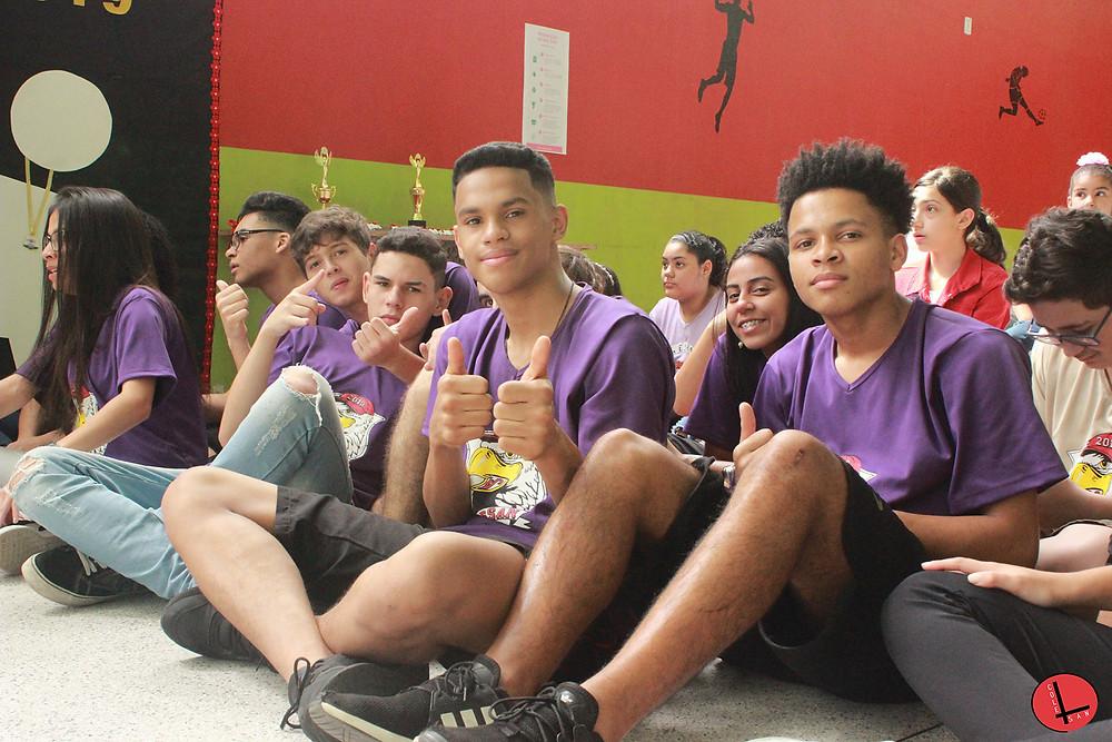 alunos Colegio Santo Andre