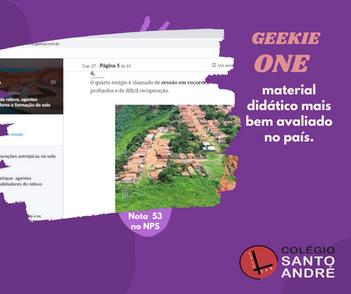 Geekie One - material didático mais bem avaliado no país