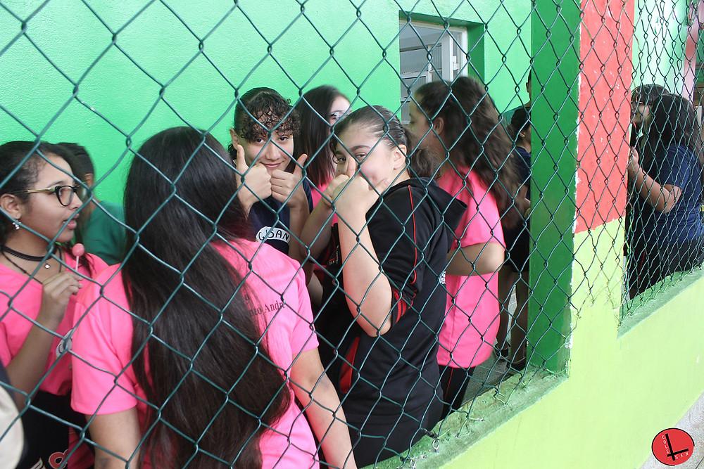 alunas Colegio Santo Andre