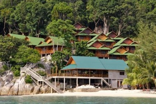pakej pulau perhentian cozy chalet surrounding 3