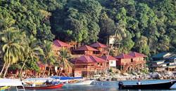 pakej pulau perhentian senja bay resort surrounding 2