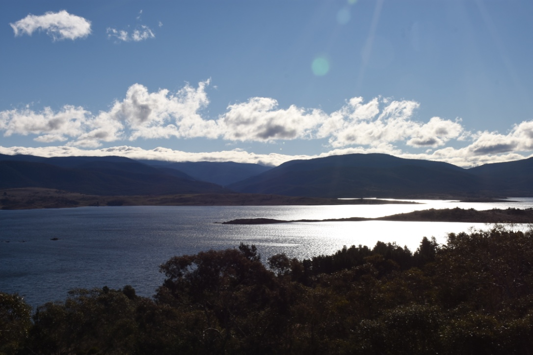 Lake Jindabyne in the late afternoon